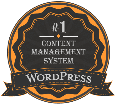 wordpress number one content management system