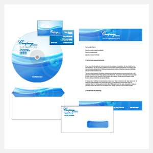 corporate identity example info graphic