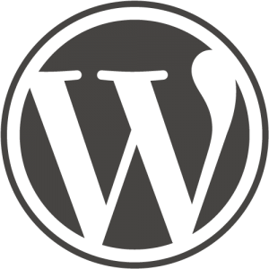 wordpress content management logo