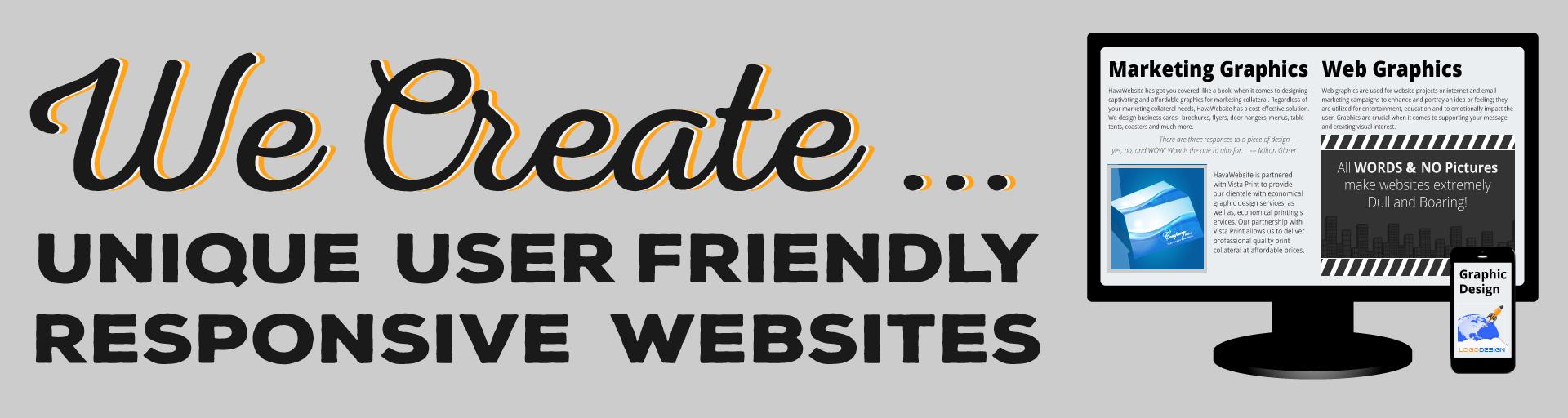 havawebsite responsive website design service